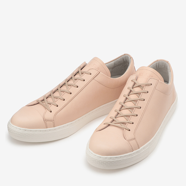 ALL STAR COUPE J LEATHER OX(オールスター クップ J レザー OX)茶色/ブラウン・通勤