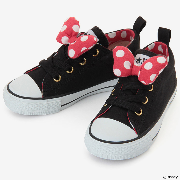CHILD ALL STAR N MINNIE MOUSE RB SLIP OX