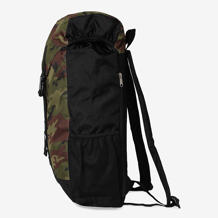 SPC フラップ バックパック(SPC FLAP BACKPACK)黒/ブラック・バックパック