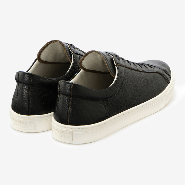 ALL STAR COUPE J LEATHER OX(オールスター クップ J レザー OX)黒/ブラック・通勤スニーカー