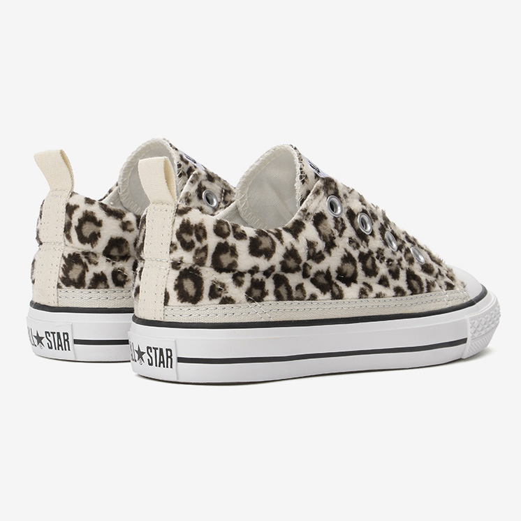 CHILD ALL STAR N LEOPARDFUR SLIP OX