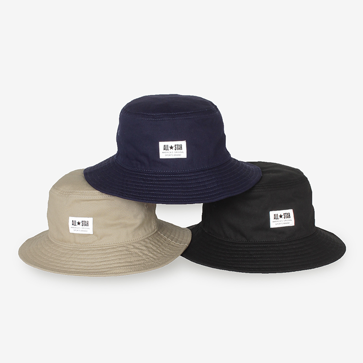 WHITE LABEL PATCH C-T BUCKET(ホワイトラベル PATCH C-T BUCKET)紺/ネイビー・ハット