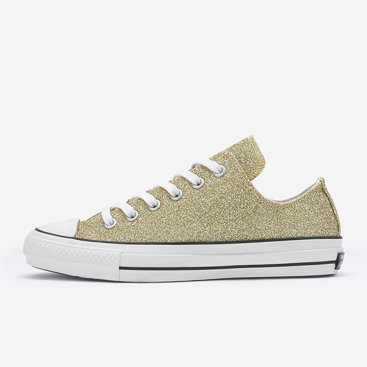 ALL STAR 100 GLITTER OX(ゴールド)