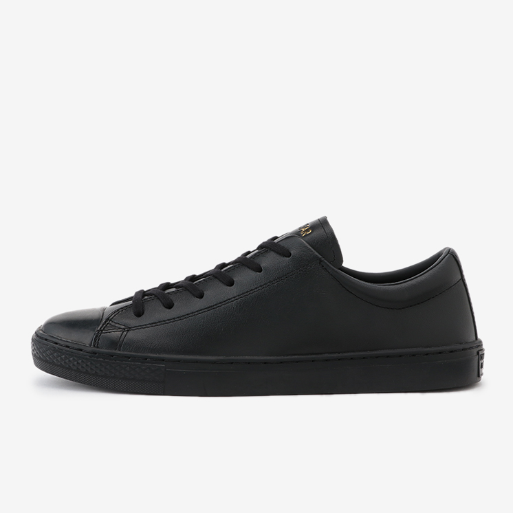 LEATHER ALL STAR COUPE  OX(レザー オールスター クップ OX)黒/ブラック・スニーカー