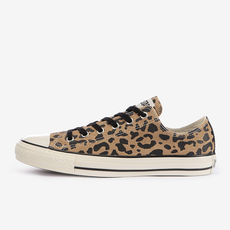 SUEDE ALL STAR US LEOPARD OX(ブラウン)