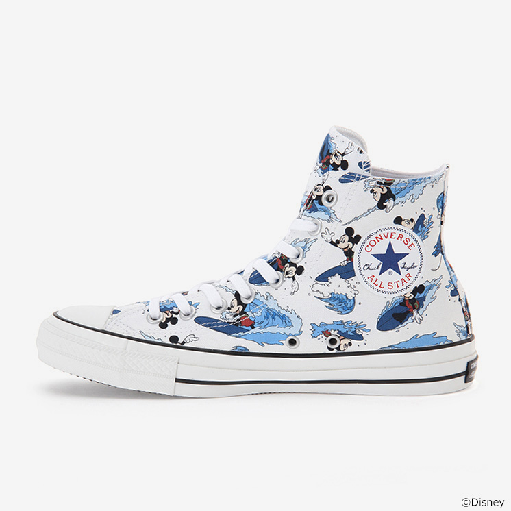 ALL STAR 100 MICKEY MOUSE SURFIN HI