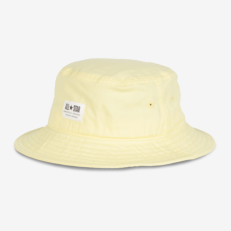 WHITE LABEL PATCH C-T BUCKET(ホワイトラベル PATCH C-T バケット)白/バケット
