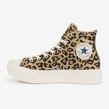 ALL STAR LIGHT PLTS LEOPARD HI