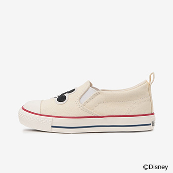 CHILD ALL STAR N MICKEY&MINNIE SLIP-ON