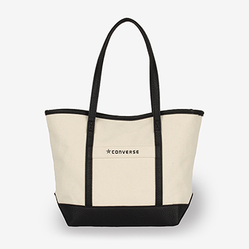 CANVASxFAKE LATHER SMALL TOTE BA(キャンバスxフェイクレザーS トートバッグ)