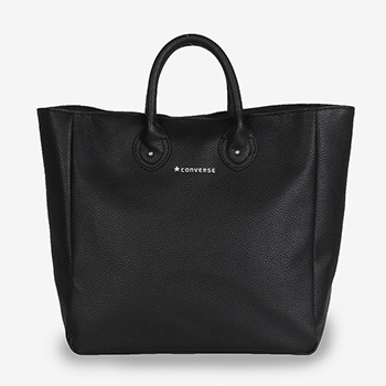 EMBOSS LEATHER LIKE TOTE BAG(エンボス フェイクレザー トートバッグ)