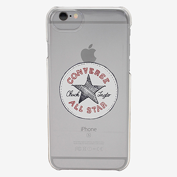 VINTAGE LOGO CLEAR IPHONE CASE(ビンテージロゴ クリア アイフォンケース【iPhone6/7/8兼用】)