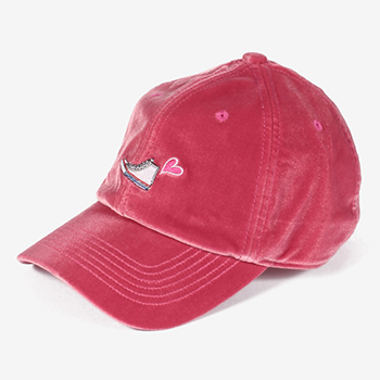 ALL STAR HI VELOUR LOW CAP