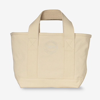 BIG C WASH CANVAS SMALL TOTE BAG