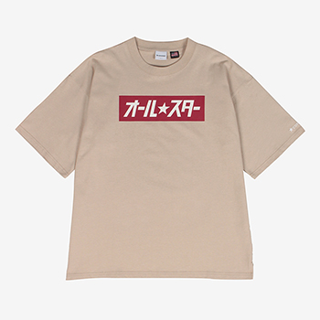 U.S.A Cotton Japanese Logo Box Print Tshirt(U.S.A Cotton Japanese ロゴボックス Tシャツ)