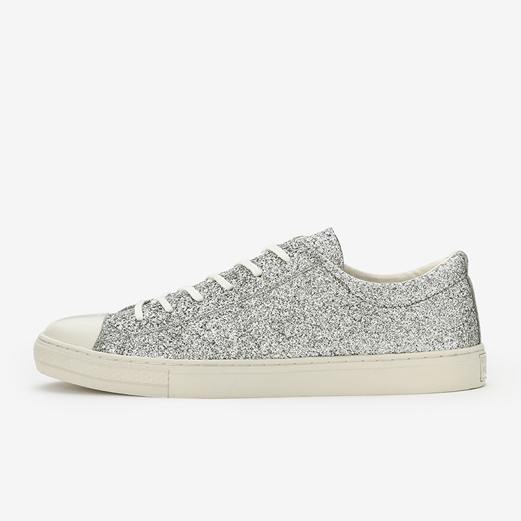 ALL STAR COUPE GLITTERMATERIAL OX(シルバー)